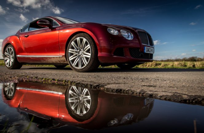 Bentley Continental GT Speed Outdoors 79