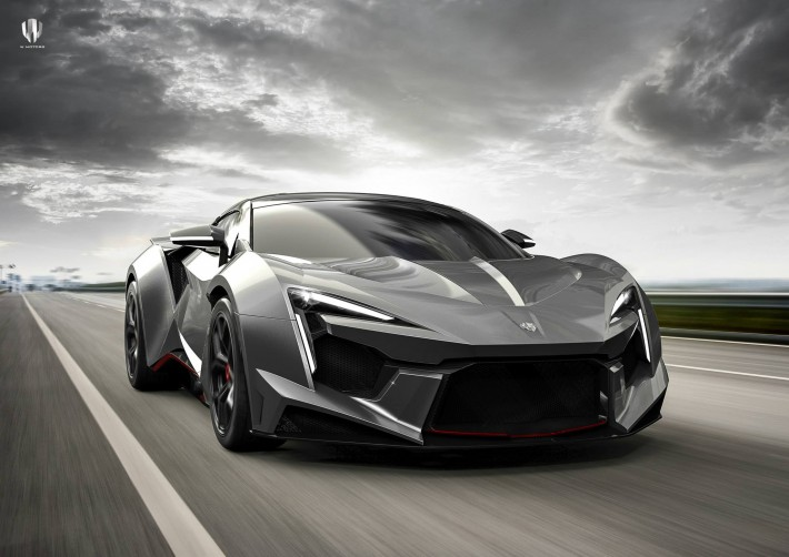 W Motors Fenyr SuperSport Front 3Q Road