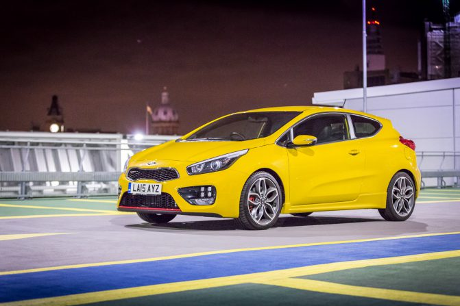 Kia pro ceed GT before the test 2
