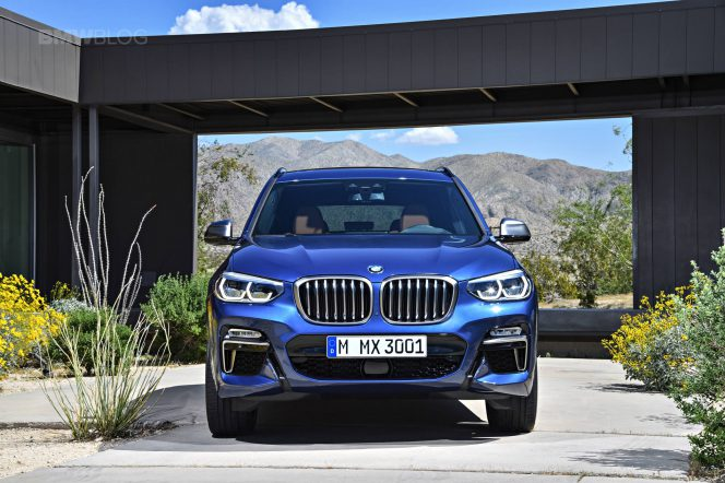 2018 BMW X3 G01 official photos 02 4