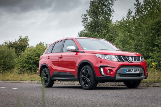 2017 Suzuki Vitara S Red PH 00013