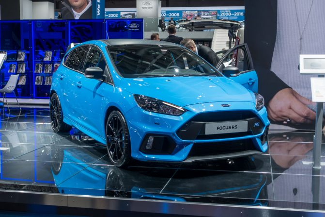 Frankfurt IAA 2017 33 Ford Focus RS