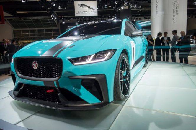 Jaguar I PACE eTROPHY race cars