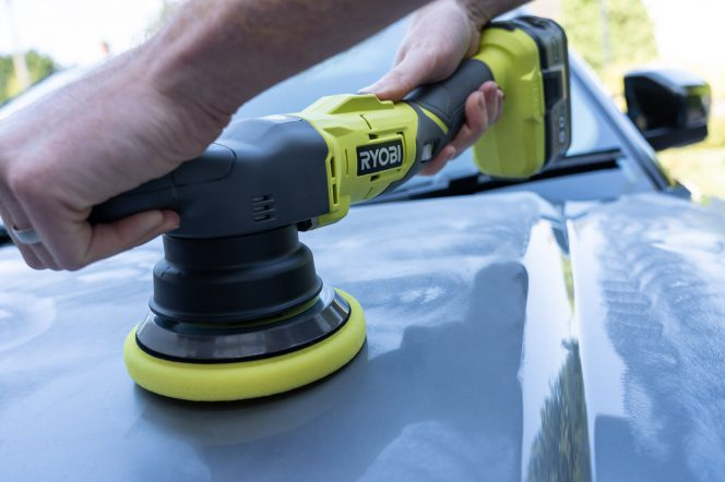 Ryobi One+ Dual Action Polisher