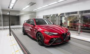 Giulia GTA Put Through Paces By Alfa Romeo Racing